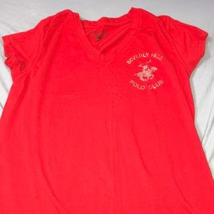 Polo Club red Tshirt